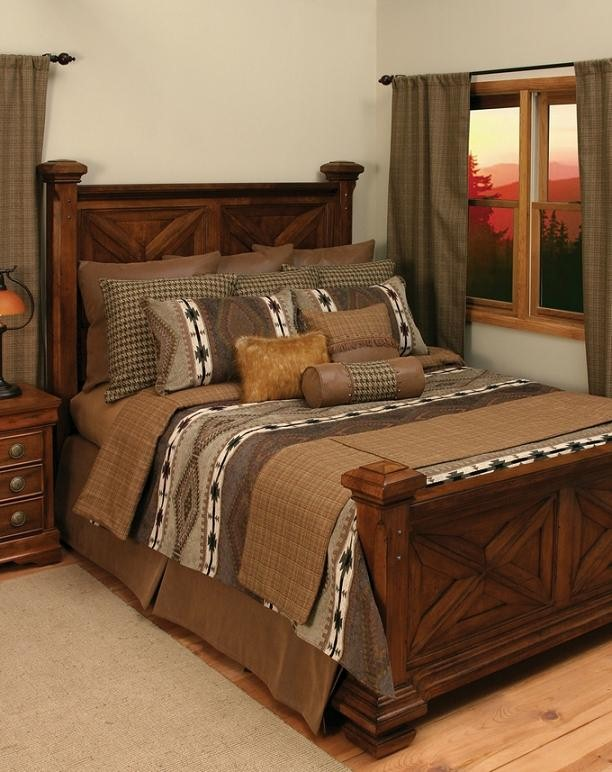 Apache Bedding Rustic Comforter Set Lodge Craft