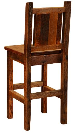 Artisan Barnwood Counter Stool