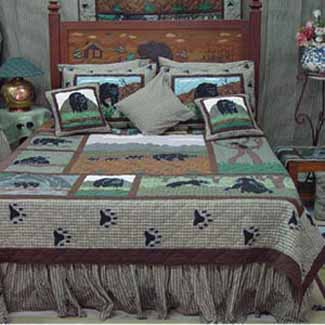 Bear Country Quilt Set
