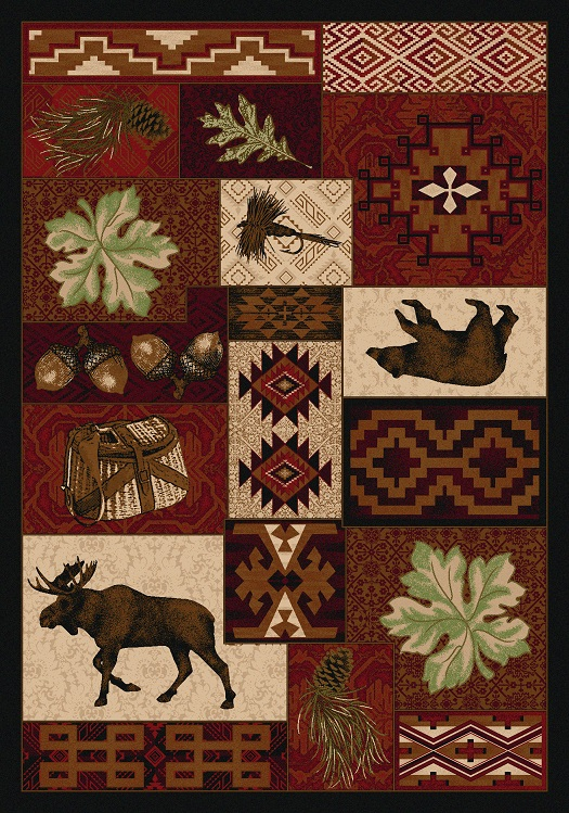 Bear Creek Lodge - Red Rug
