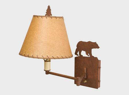 Bear Single Swing Arm Light