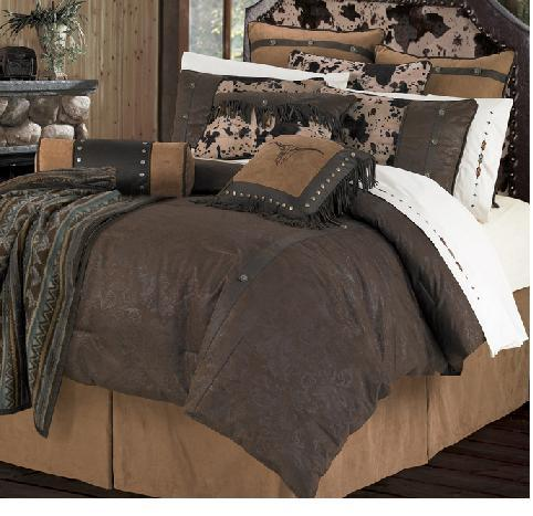 Caldwell Bedding Rustic Comforter Set Lodgecraft