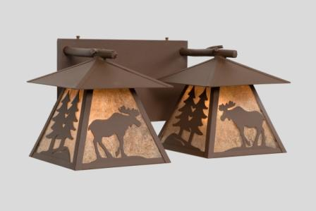 Cascade Moose Double Vanity