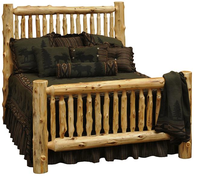Cedar Small Spindle Bed