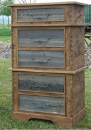 Lodge and Rustic Chests & Dressers