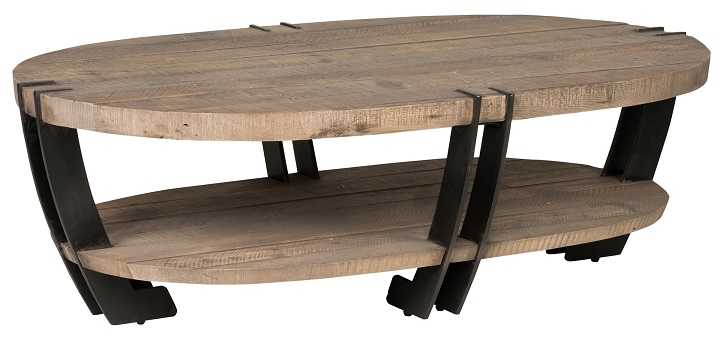 Clic Home Marcelo Oval Coffee Table