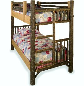 Classic Bunk Bed Old Hickory Furniture Lodge Craft