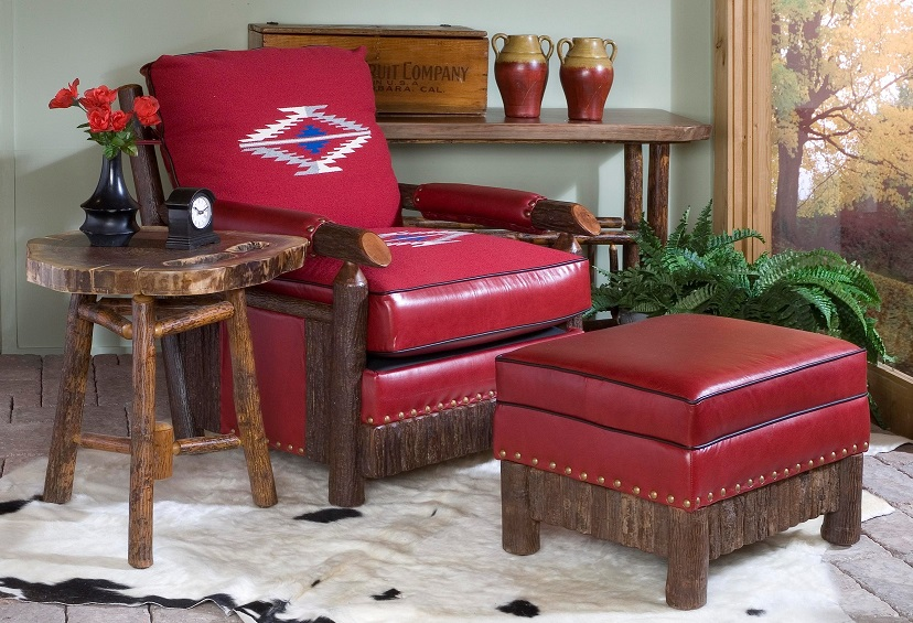 Cody Club Chair Old Hickory Furniture Lodge Craft