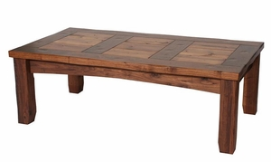 rustic coffee tables - lodge, log and mission styles - lodge craft