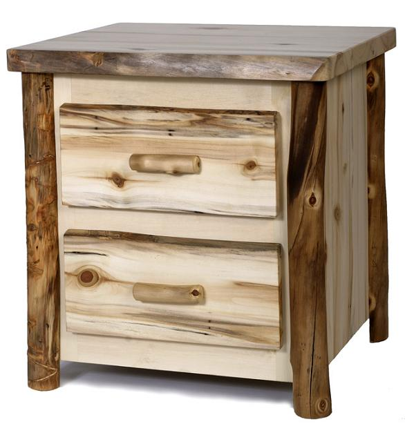 Colorado 2-Drawer Nightstand