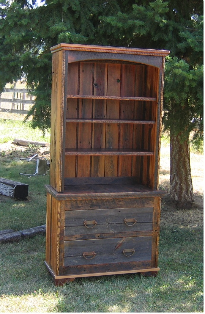 Country Roads 2 Piece Book Case Lodge Craft