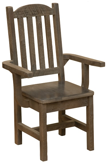 Fireside Lodge Frontier Cathedral Dining Arm Chair