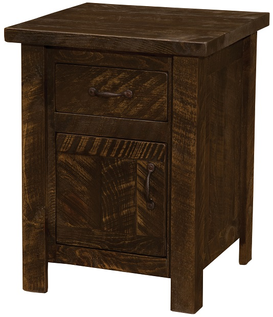 Fireside Lodge Frontier Enclosed Nightstand