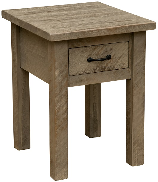 Fireside Lodge Frontier One-Drawer End Table