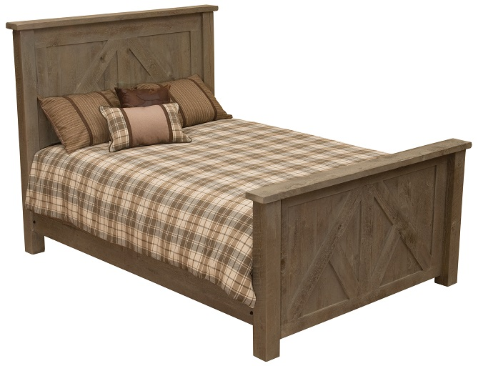 Fireside Lodge Frontier Timber Frame Bed