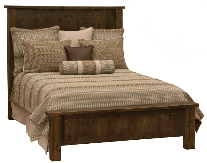 Fireside Lodge Frontier Traditional Bed, Low Profile