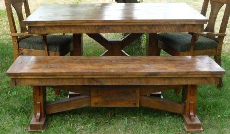 Hawk Creek Dining Bench