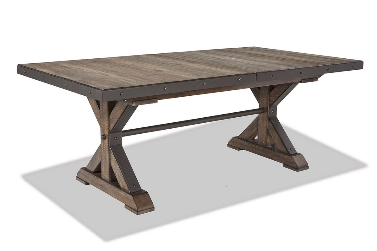 Rustic Dining Room Tables For Sale Intercon Taos Trestle Table