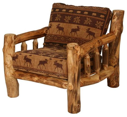 Aspen Living Room Chair With Cushions Lodge Craft