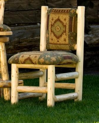 Lodge Upholstered Side Chair