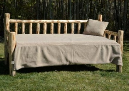Log Day Bed