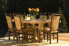 Log Dining Room Furniture