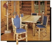 Log Furniture Outlasts Most Other Furniture in your Home