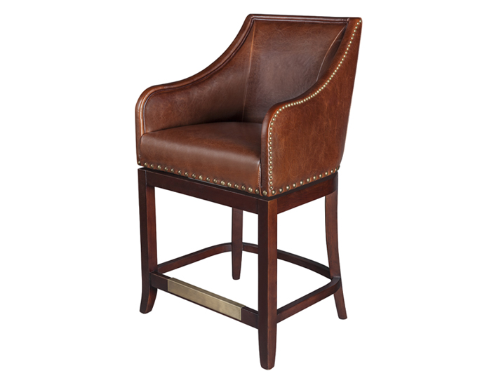 Tremendous Genuine Leather Bar Stools Uwap Interior Chair Design Uwaporg