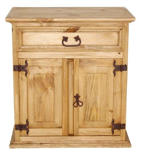 Montana Ranch Mansion Nightstand