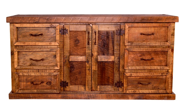 Montana Ranch Old Fashioned Dresser