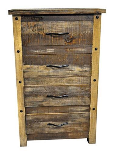 Montana Ranch Slatted Wood Chest
