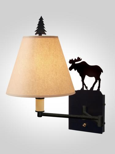 Moose Single Swing Arm Light