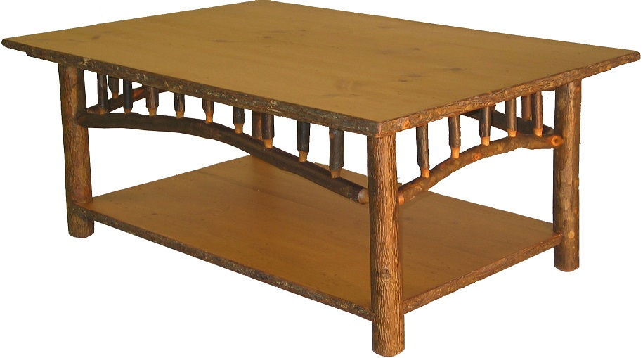 Old Hickory North Country Coffee Table Lodge Craft