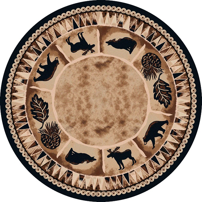 Northern Wildlife Rug
