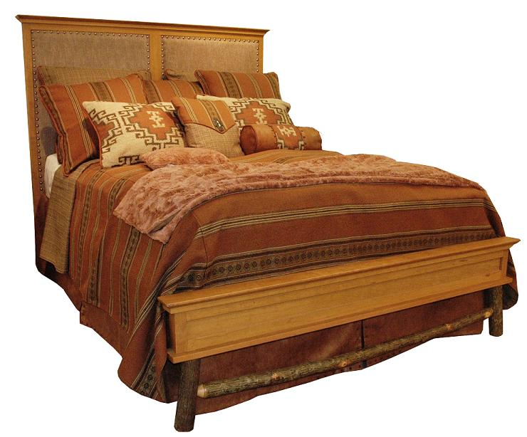 Old Hickory Calistoga Bed-Twin