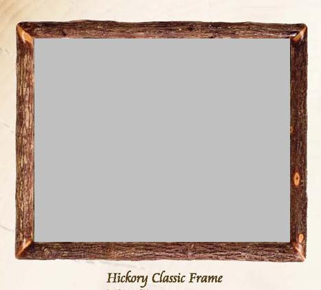 OH Classic Hickory Frame/Mirror