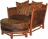 Hill Country Chair with Ottoman
