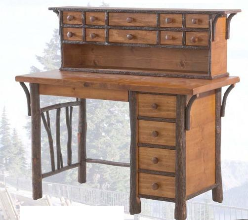 Lovely Old Hickory North Fork Fly Tying Desk And Hutch