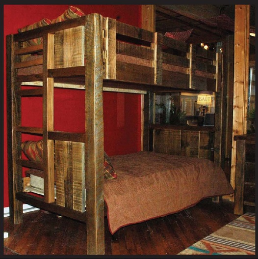 Old Hickory Old Timber Bunk Bed