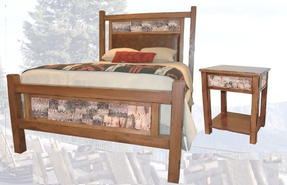 Old Western Trails King Bed