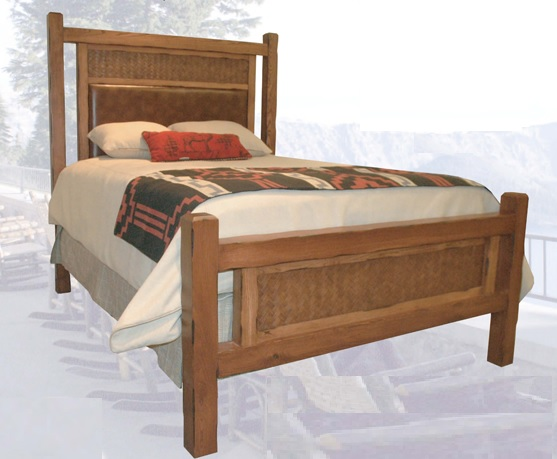 Old Western Trails Twin Bed