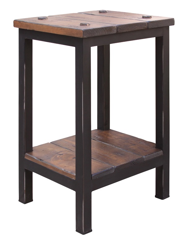 Pueblo Chair Side Table