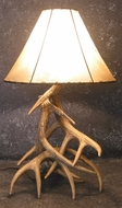 Real & Faux Antler Lighting