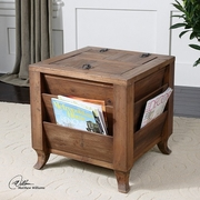 Stay Organized With Rustic Furniture