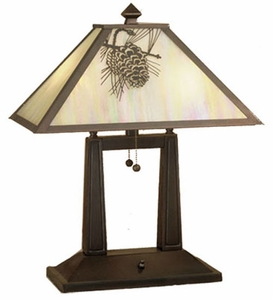 lodge furniture rustic lighting and cabin decor - Rustic Table Lamps