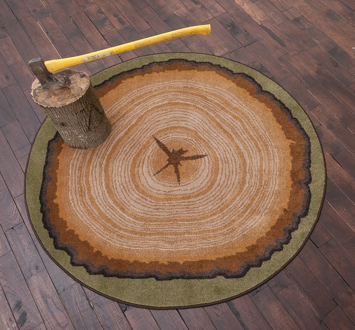 Tree Stump Rug Uniquely Modern Rugs