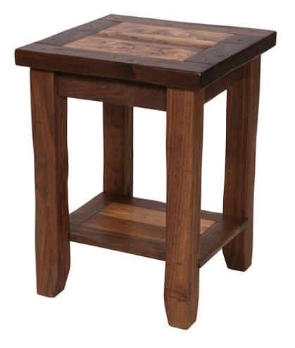 Walnut Lodge Side Table