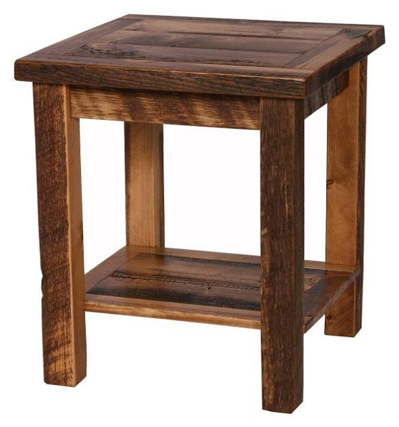 Weathered Pine Nightstand