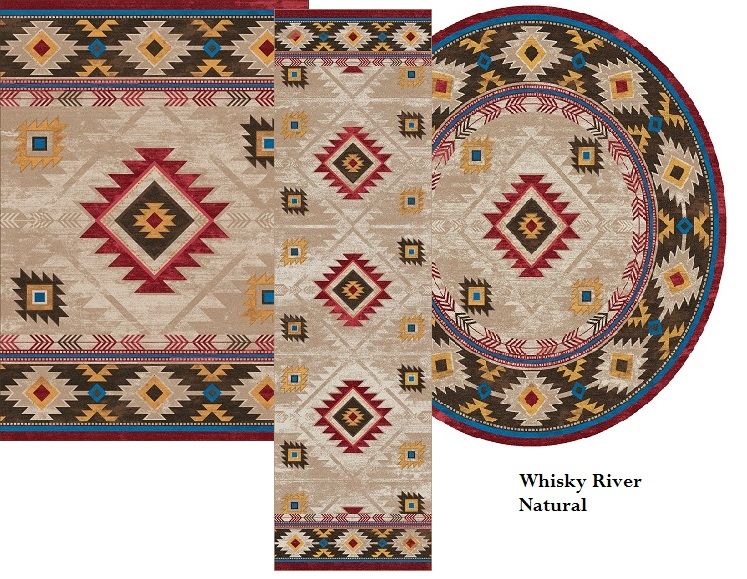 Whisky River Rug