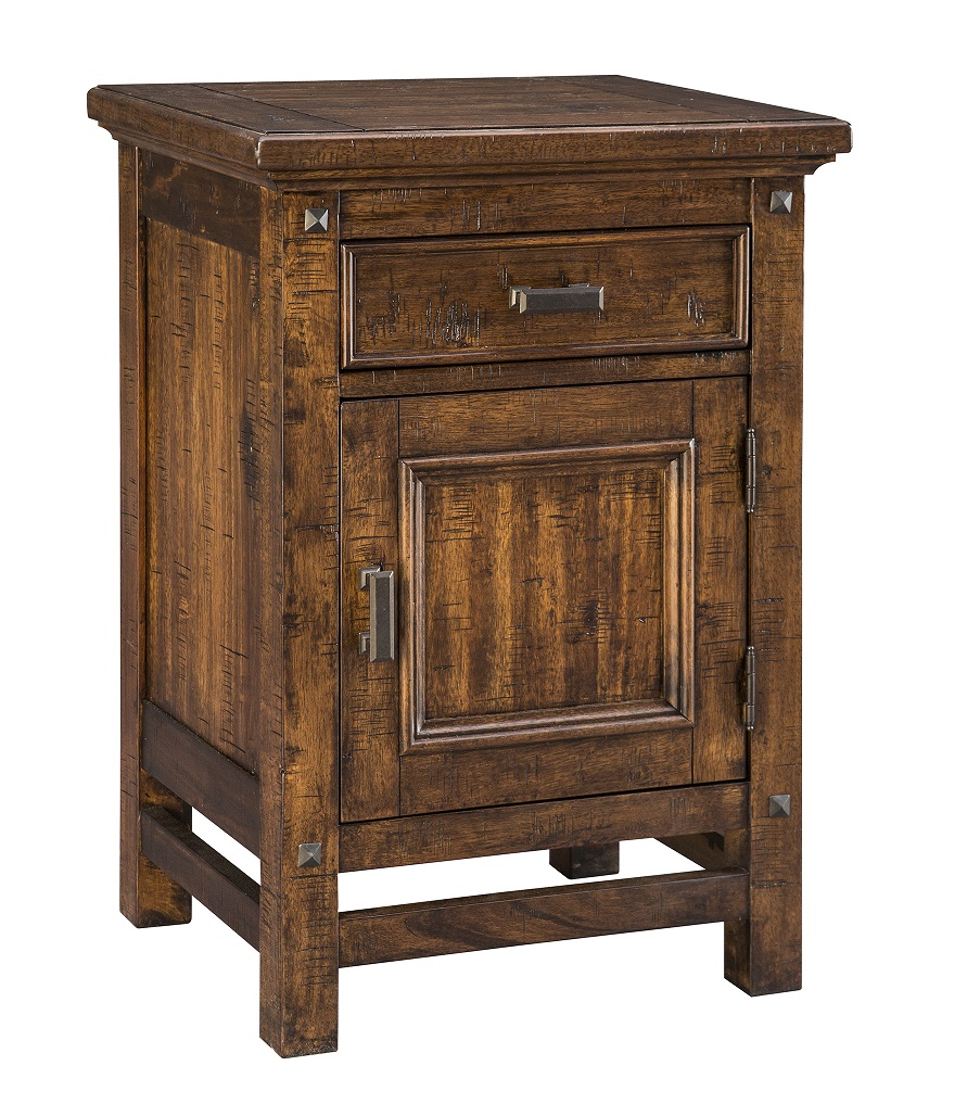 Wolf Creek Nightstand with Door